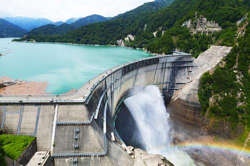水力発電のダム