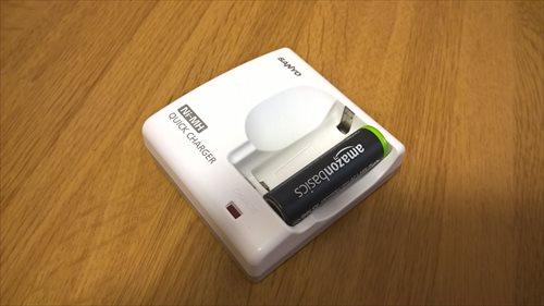 充電池と充電器